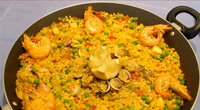Arroz a la marinera de Chiclana